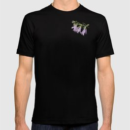 Purple bell flowers T-shirt