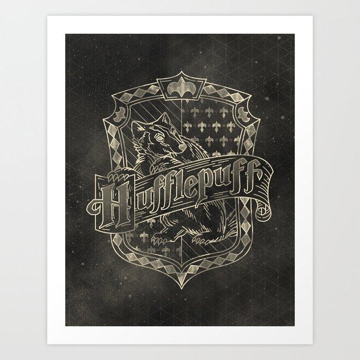 Hufflepuff House Art Print