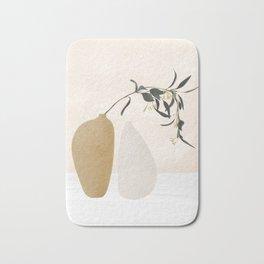 Couple Of Vases Bath Mat