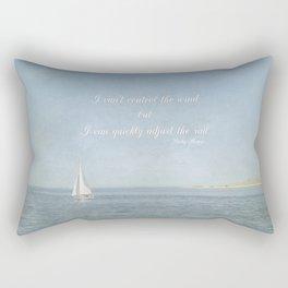 Adjust your sail Rectangular Pillow