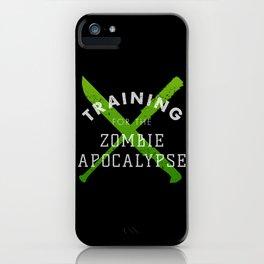 Training: Zombie Apocalypse iPhone Case