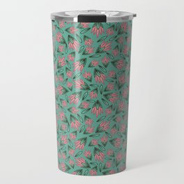 Tossed Lotus Travel Mug