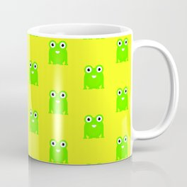 Little green toad pattern design Coffee Mug