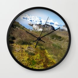Colors of Ilulissat Wall Clock