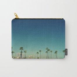 Summer Beach Blue Carry-All Pouch