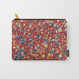 Organic Vintage Texture Carry-All Pouch