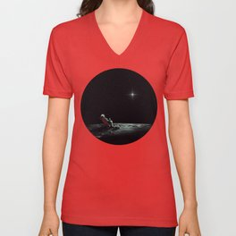 Space Chill Unisex V-Neck