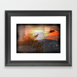 God's Country The Smokies Framed Art Print