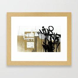 Detroit series 7 Framed Art Print