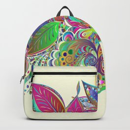 Abstract Mardi Gras Backpack