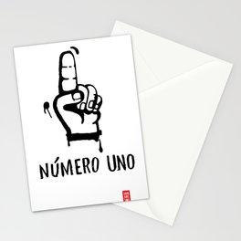 numero uno Stationery Cards