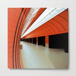 munich - underground I Metal Print