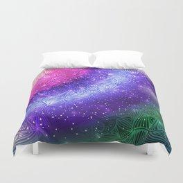Galaxy Mandala 004 Duvet Cover
