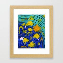 Hoppy Hoppy Dab Dab Framed Art Print