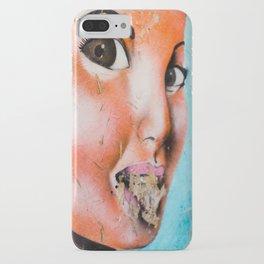 Brown Eyed Street Girl iPhone Case