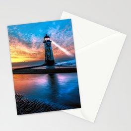 Light House Sunset Stationery Cards