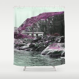 Pink Norway - The House Shower Curtain