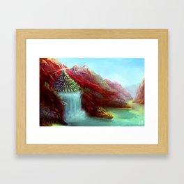 Phyrgos Framed Art Print
