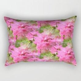 Azaleas in Pink... Rectangular Pillow