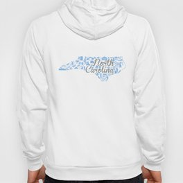 UNC North Carolina State - Blue and Gray University of North Carolina Design Hoody