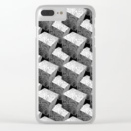 Unwavering Series 2_Cubes_Blocks Clear iPhone Case