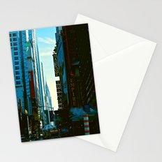 Busy City Stationery Cards
