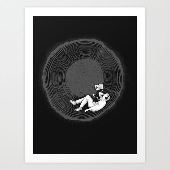Feel calm and peaceful Art Print
