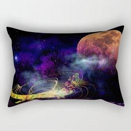 Cosmic Anole Rectangular Pillow