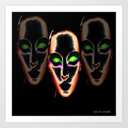 Tropical Infusion  Art Print