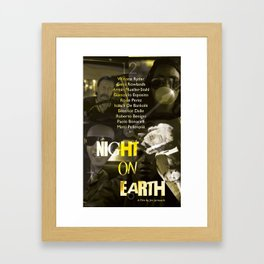 Night on Earth Poster Framed Art Print