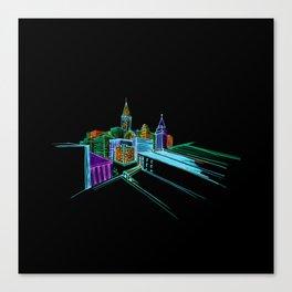 Vibrant city 2 Canvas Print