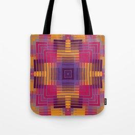 Happy Grids Tote Bag