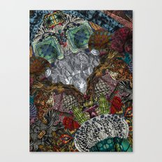 Psychedelic Botanical 13 Canvas Print