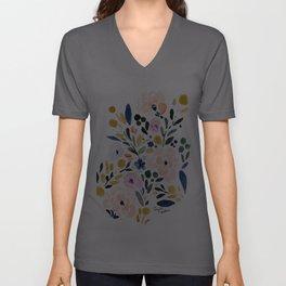 Sierra Floral Unisex V-Ausschnitt