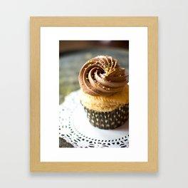 Birthday Cupcake Framed Art Print