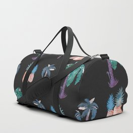 Palm Trees an Pineapples at Night Duffle Bag