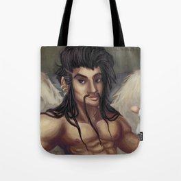 Pinup Draven Tote Bag