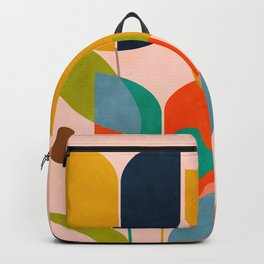 floral shapes III Backpack