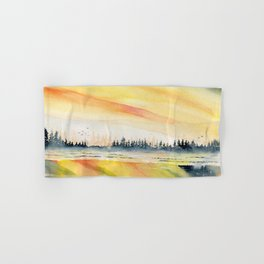 Sunset Reflections Hand & Bath Towel