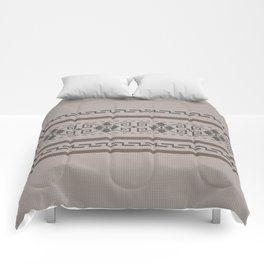 The Big Lebowski Cardigan Knit Comforters