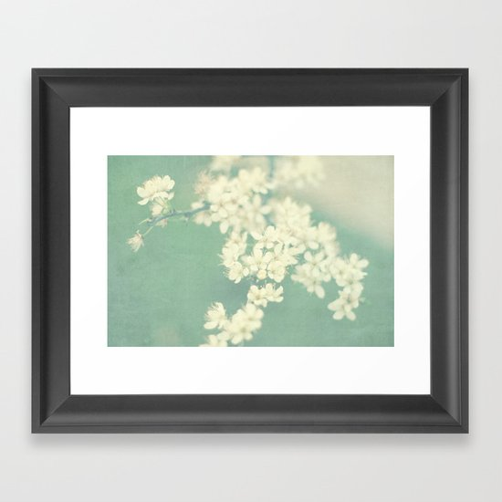 one spring day Framed Art Print