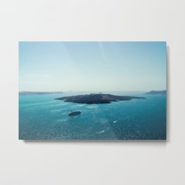 Blissful Life on the Aegean Metal Print