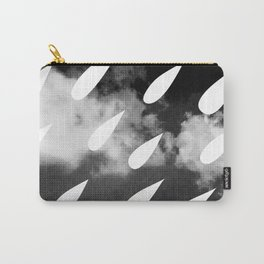 Storm Clouds + Droplets Carry-All Pouch