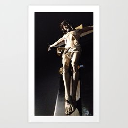 jesus christ Art Print