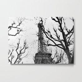 Cold Paris Metal Print