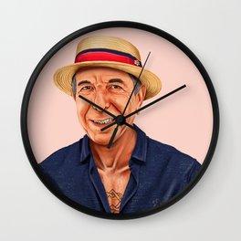 Hipstory - Leonard Cohen Wall Clock