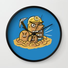 Mr. Resettrio Wall Clock