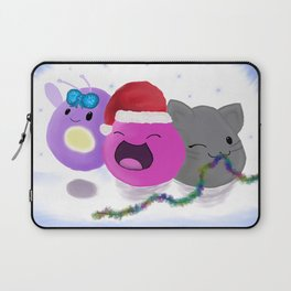 Slimey Christmas Laptop Sleeve