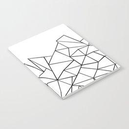 Ab Peaks White Notebook