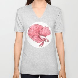 Fancy Betta Unisex V-Neck